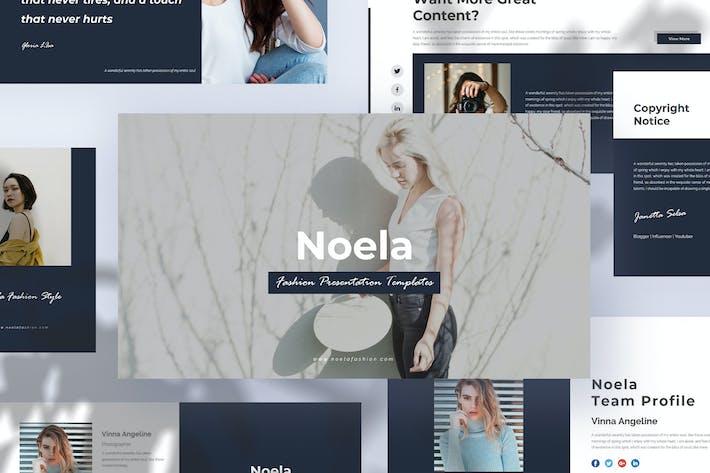 Thumbnail for Noela - Fashion Google Slide Presentation