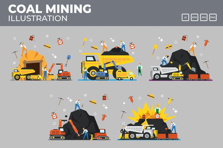 Thumbnail for Coal mining and industry