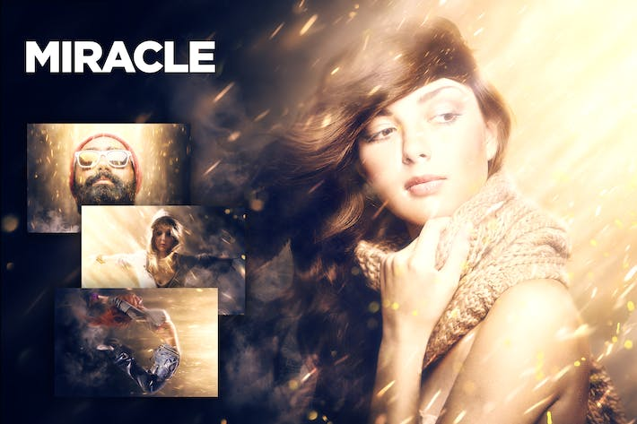 Thumbnail for Miracle Photoshop Action CS4+