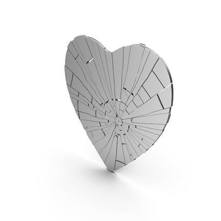 Плоское сердце треснуло