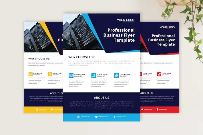 Corporate Flyer - Sanstemp