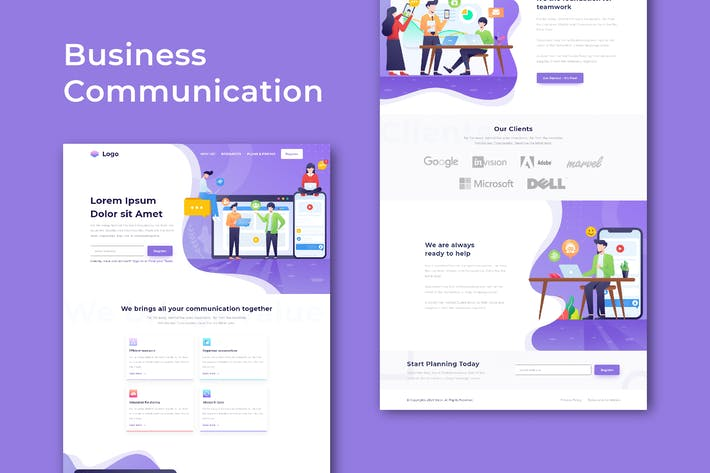 Thumbnail for Business Communication - Website