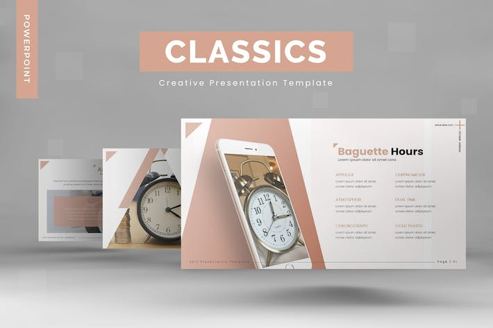 Thumbnail for Classics - Powerpoint Template