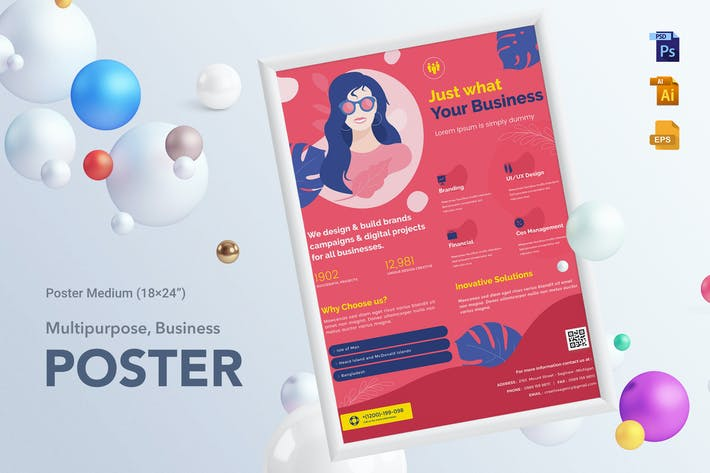 Thumbnail for Multipurpose Business Poster