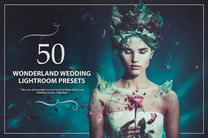 Thumbnail for 50 Wonderland Wedding Lightroom Presets