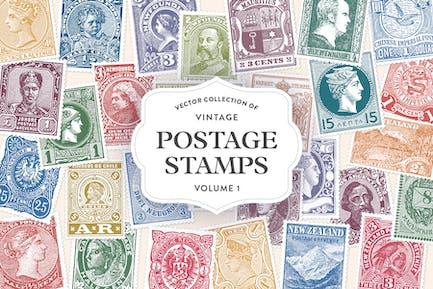Vintage Briefmarken Vol. 1