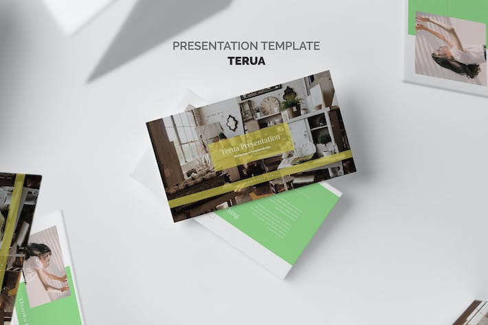 Thumbnail for Terua : Home Interior Google Slides