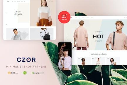 CZOR   Minimalist Shopify Theme