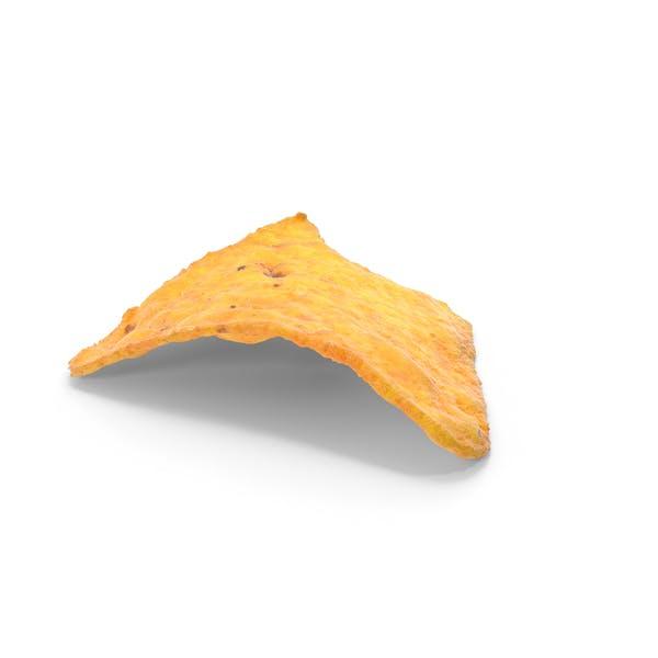 Tortilla  Chip Bitten