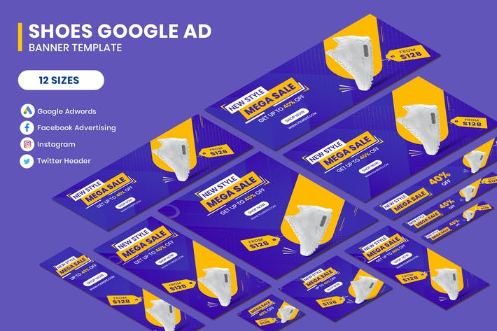 Thumbnail for Shoes Google AD Template