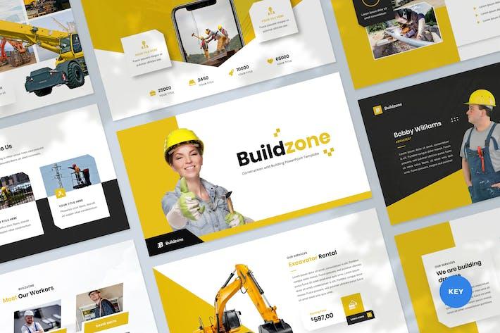 Thumbnail for Шаблон ключевых заметок по строительству и строительству