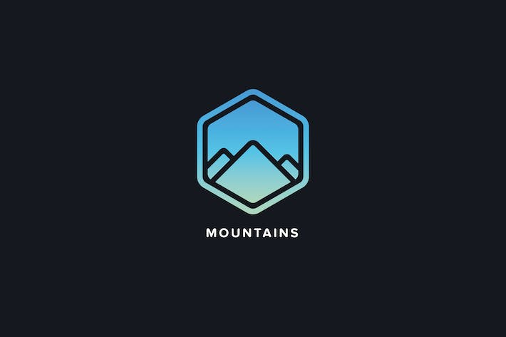 Thumbnail for Mountains Logo Template