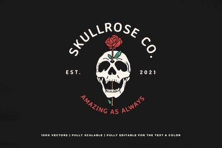 Skull and Rose Logo - KNA
