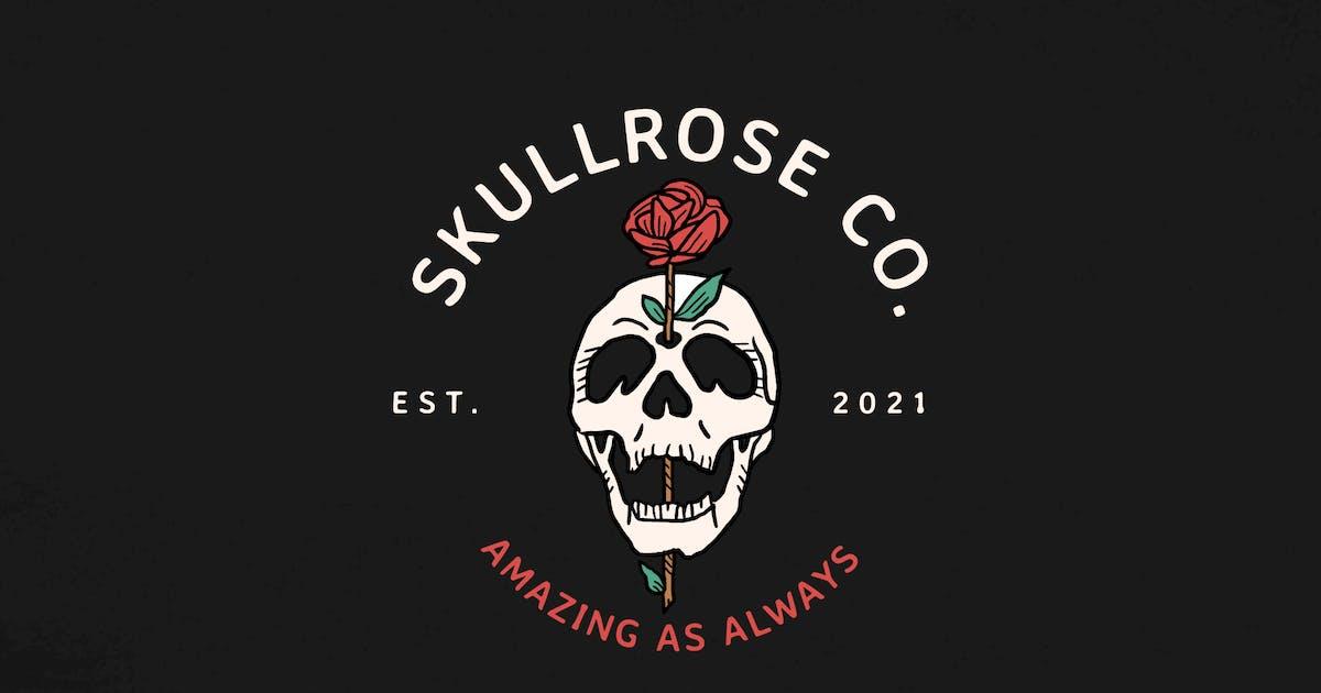 Download Skull and Rose Logo - KNA by tacikworks
