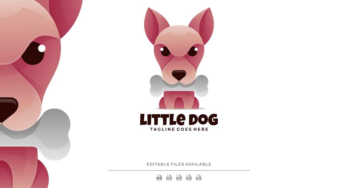 Download Little Dog Gradient Logo by artnivora_std