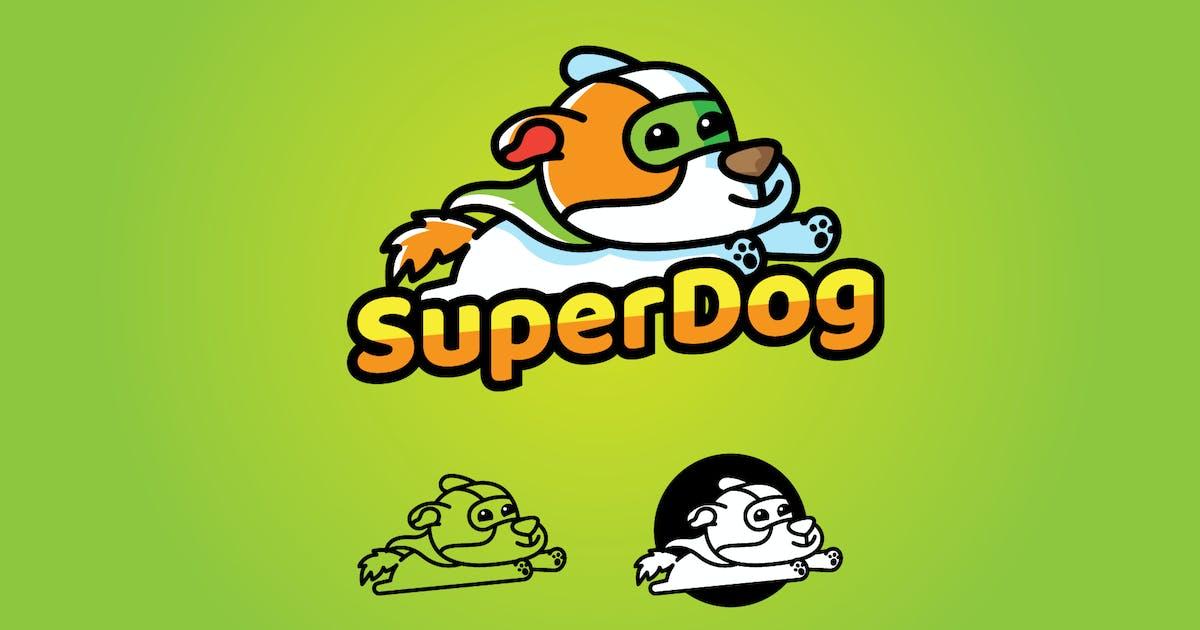 Download Super Dog - Mascot & Esport Logo by aqrstudio