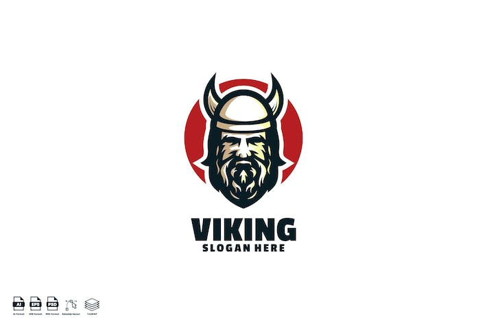 Thumbnail for viking logo template