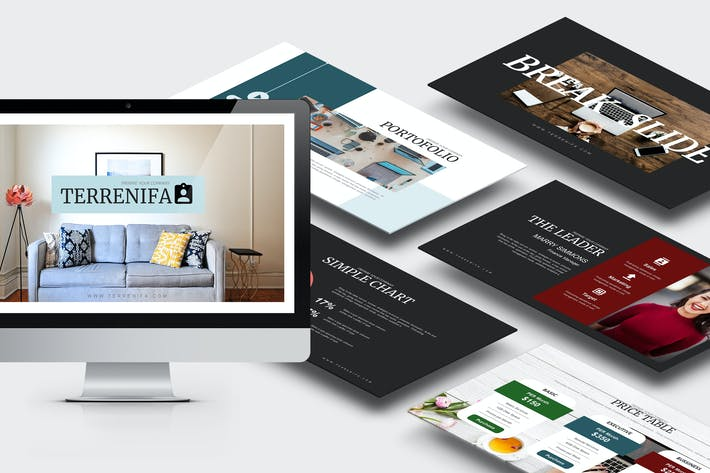 Thumbnail for Terrenifa : Multipurpose Keynote Template