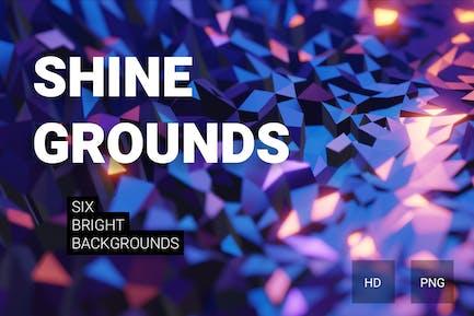 Shine grounds