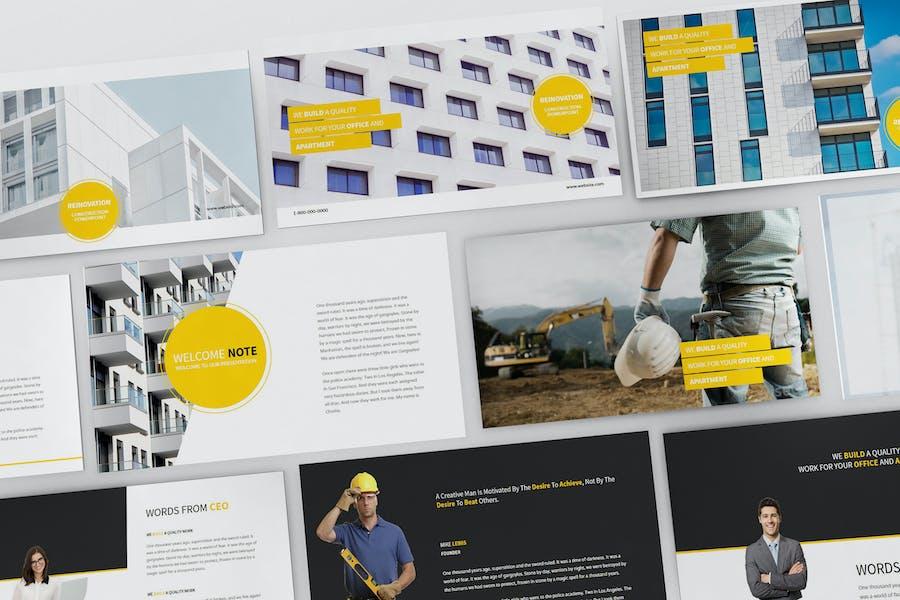 Construction Powerpoint Presentation