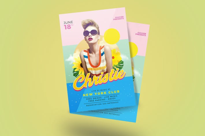 Thumbnail for Summer DJ Flyer