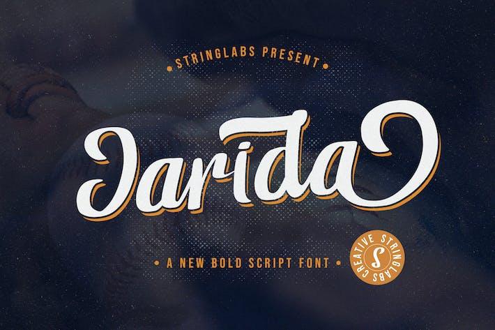 Thumbnail for Jarida - Fuente de escritura en negrita