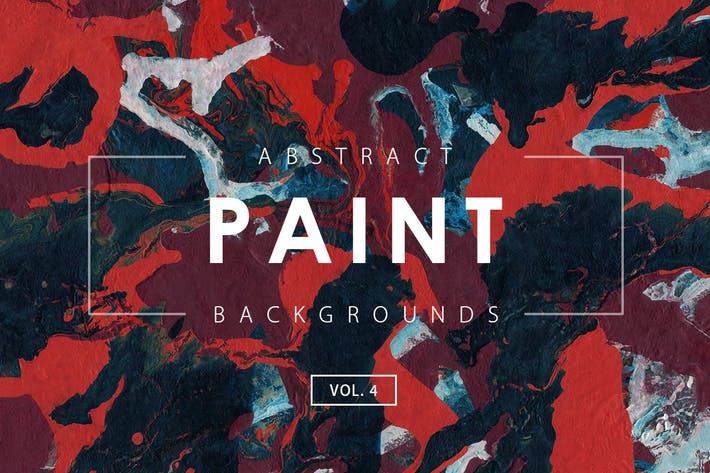 Thumbnail for Abstract Paint Backgrounds Vol. 4