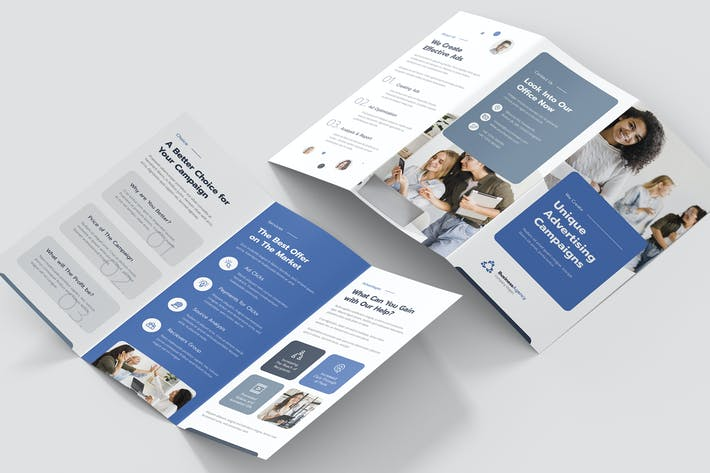 Cover Image For Brochure – Business Agency Tri-Fold