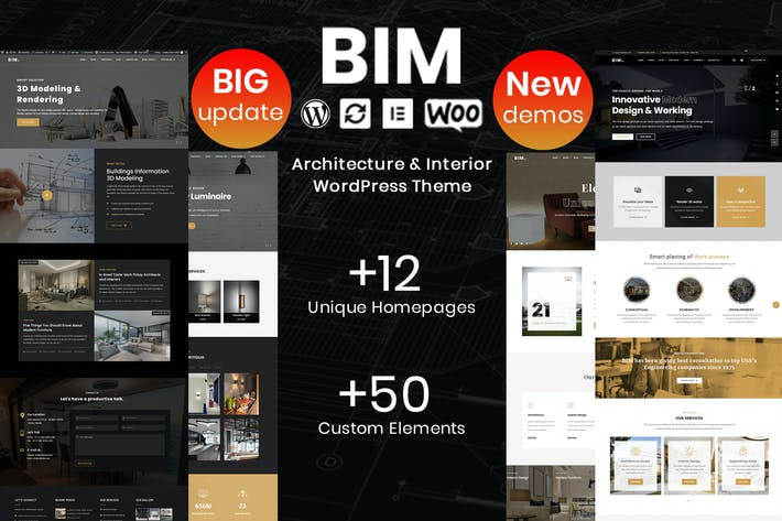 Thumbnail for BIM - Architecture & Interior Design WP Theme
