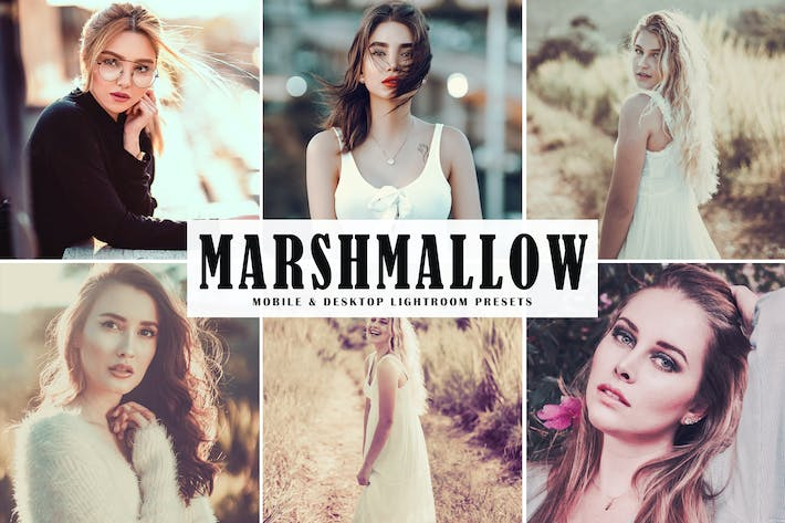 Thumbnail for Marshmallow Mobile & Desktop Lightroom Presets