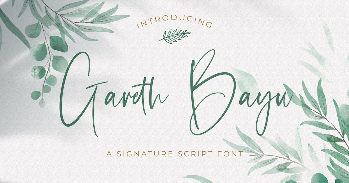 Download Gareth Bayu - Handwritten Font by StringLabs