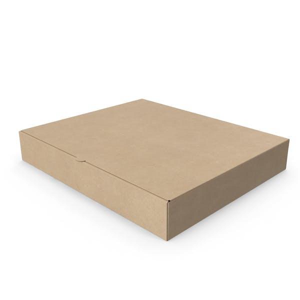 Pizza Box Kraft Paper Rectangle