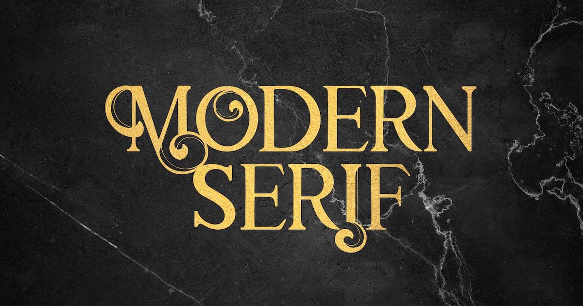 Download Modern Mode - Modern Serif Font by naulicrea