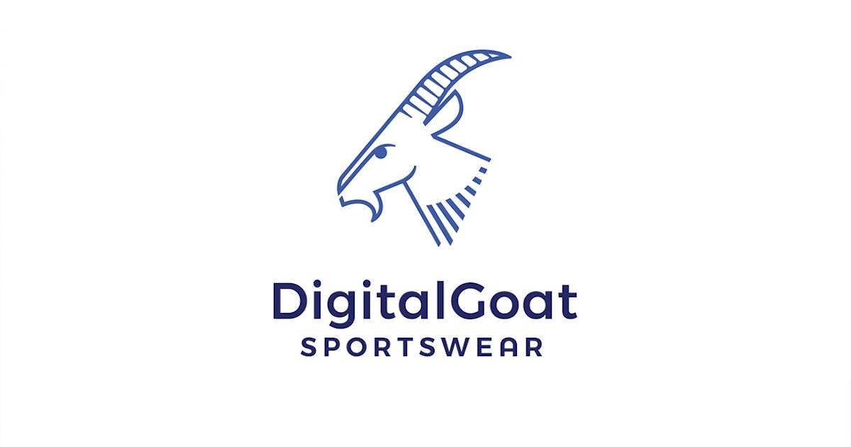 Download Digital Goat Sportware Logo Template by Mihis_Design
