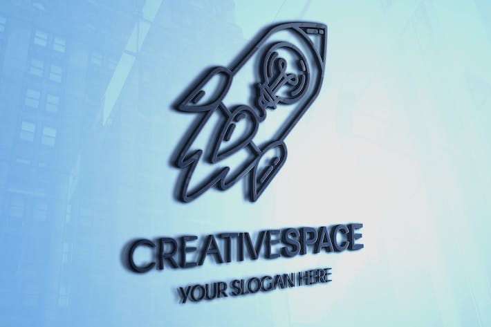Thumbnail for Creative Idea With Rocket Logo