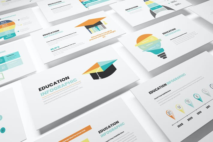 Thumbnail for Education Infographic Powerpoint Template