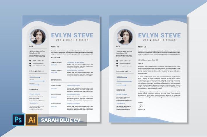 Thumbnail for Sarah Blue | CV & Resume