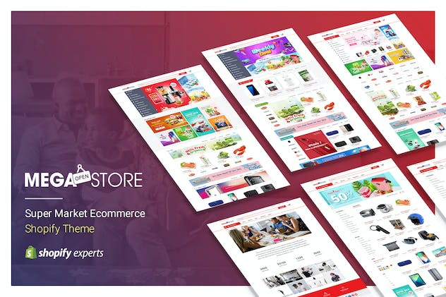 MegaStore | Super Market eCommerce Shopify Theme