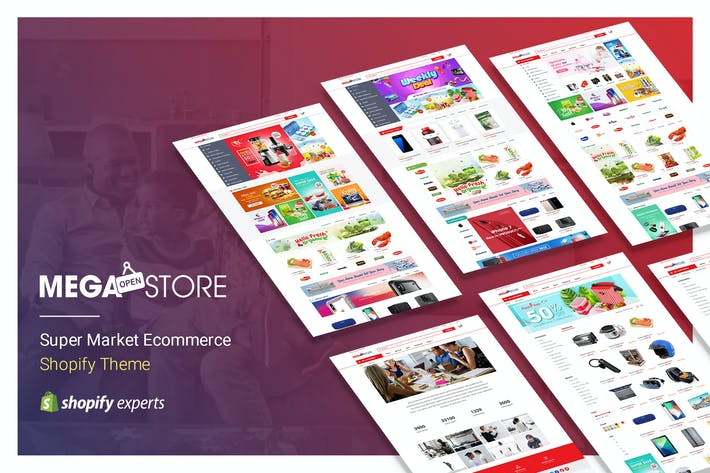 Cover Image For Megastore | Thème Shopify Super Market eCommerce