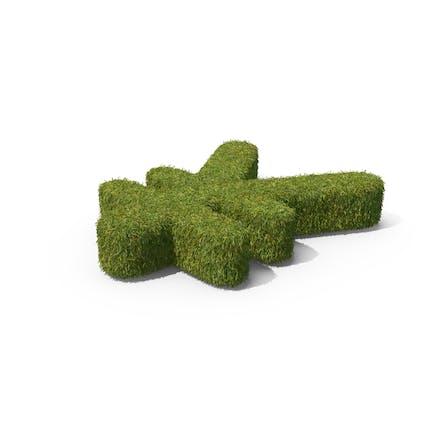 Grass Yuan Symbol