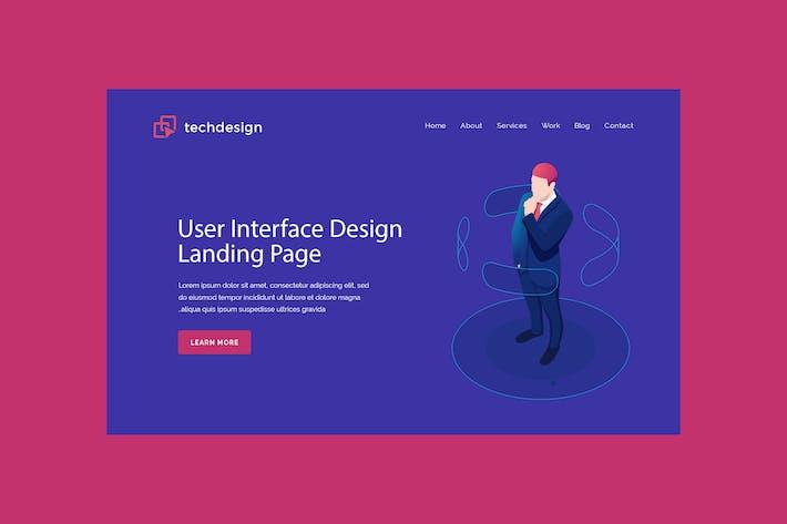 Thumbnail for Techdesign - Hero Banner Template