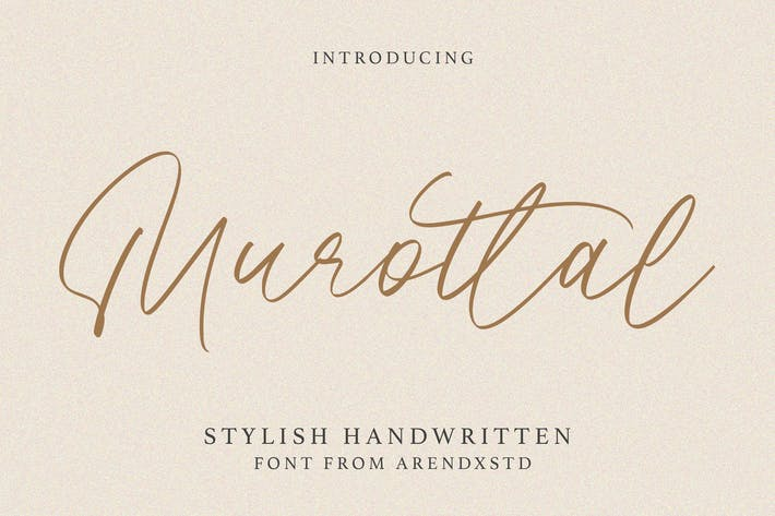 Murottal Stylish Handwritten