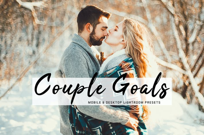 Thumbnail for Couple Goals Mobile & Desktop Lightroom Presets