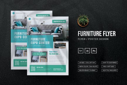 Furniture Expo - Flyer