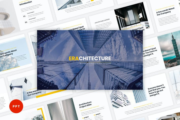 Cover Image For Era - Architecture PowerPoint Template