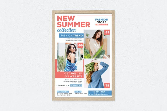 Thumbnail for New Summer Collection Poster