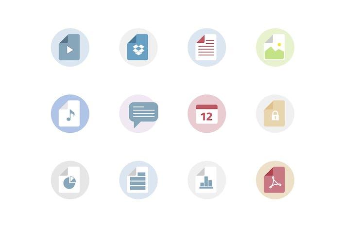 Thumbnail for Íconos de tipos de archivo