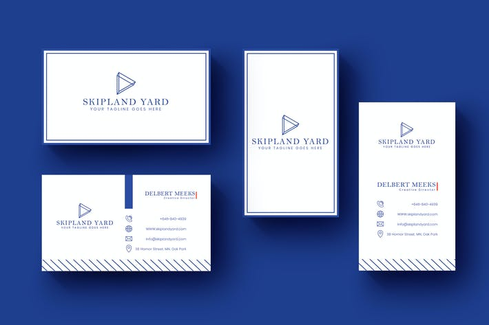 Thumbnail for Business Invitation Card Horizontal and Vertical