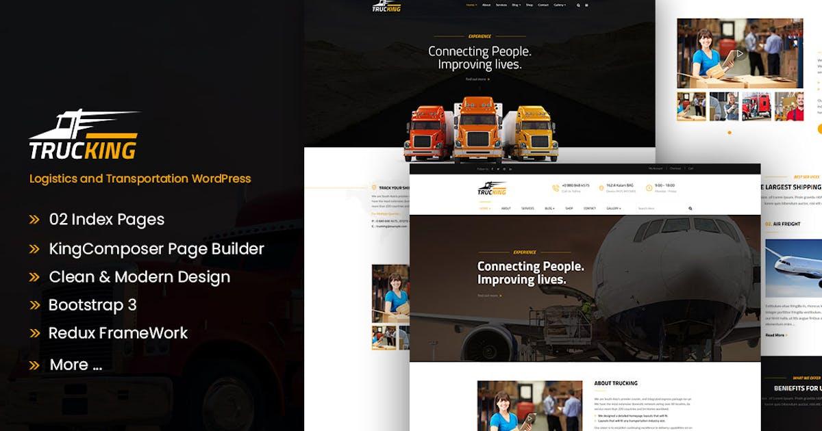 Trucking - Logistics and Transportation WordPress by ApusWP