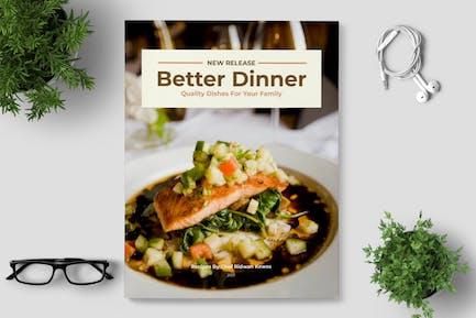 Dinner Recipe Book Template